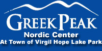Greek Peak Nordic Cross Country Ski Areas of NY
