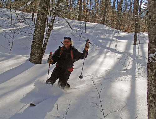 Late Feb. Still Great XC-Skiing!